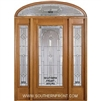 Serenade 6-8 Full Lite Single and 2 Sidelights with Elliptical Transom