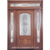 Ambassador 6-8 2/3 Arch Lite Single, 2 Sidelights and Rectangular Transom