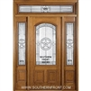 Lone Star 6-8 2/3 Arch Lite Single, 2 Sidelights and Rectangular Transom