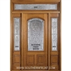 Symphony 6-8 2/3 Arch Lite Single, 2 Sidelights and Rectangular Transom