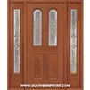 Queen Anne 6-8 Twin Radius Lite Single and 2 Sidelights