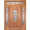 New Century 6-8 Center Arch Single, 2 Sidelights and Rectangular Transom