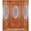 Queen Anne 6-8 Deluxe Half Oval Single and 2 Sidelights