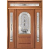New Dimension 6-8 2/3 Radius Lite Single, 2 Sidelights and Rectangular Transom