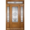 Lone Star 8-0 3/4 Lite Single, 2 Sidelights and Rectangular Transom
