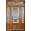 Symphony 8-0 3/4 Lite Single, 2 Sidelights and Rectangular Transom