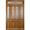 Serenade 8-0 Twin Lite Single, 2 Sidelights and Rectangular Transom