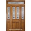 Sonnet 8-0 Twin Lite Single, 2 Sidelights and Rectangular Transom