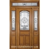 Lone Star 8-0 Arch Lite Single, 2 Sidelights and Rectangular Transom