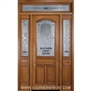 Sonnet 8-0 Arch Lite Single, 2 Sidelights and Rectangular Transom