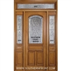 Symphony 8-0 Arch Lite Single, 2 Sidelights and Rectangular Transom