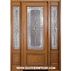 Sonnet 8-0 42 Inch 3/4 Lite Single and 2 Sidelights