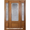 Symphony 8-0 42 Inch 3/4 Lite Single and 2 Sidelights