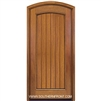 Solid 6-8 Arch Panel Arch Top Plank Single