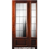 GC French 8-0 x 3-6 3/4 Lite Single and 1 Sidelight