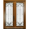 Monticello WO 8-0 Arch Panel Double