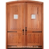 A81P-ER Arched Top Arched Grooved Panel Double