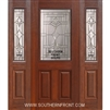 Marsala Fiberglass 1/2 lite Cherry Single and 2 Sidelights