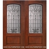 Palmetto Arch Lite Cherry 1 Panel Double