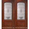 Versailles Arch Lite Cherry 1 Panel Double