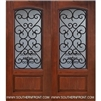 Palermo GBG 6-8 Arch Lite Cherry 1 Panel Double