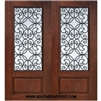 Florence GBG 6-8 3/4 Lite Cherry 1 Panel Double