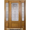 "Serenade 8-0 32"" 3/4 Lite Single and 2 Sidelights"