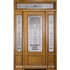"Serenade 8-0 32"" 3/4 Lite Single, 2 Sidelights and a Rectangular Transom"