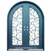 Pro Series Iron Tree Round Top Double Door