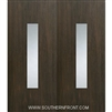 Malibu 6-8 Fiberglass Contemporary Door Double