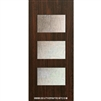 Santa Monica 6-8 Fiberglass Contemporary Door Single