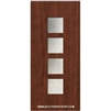 Venice 6-8 Fiberglass Contemporary Door Single