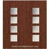Venice 6-8 Fiberglass Contemporary Door Double