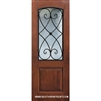 Charleston 8-0 2/3 Arch Lite FG WI Knotty Alder One Panel Single