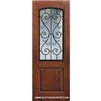 St Charles 8-0 2/3 Arch Lite FG WI Knotty Alder One Panel Single