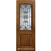 Verona GBG 8-0 Arch Lite Fiberglass Knotty Alder 1 Panel Single