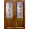 Marsais 8-0 2/3 Lite Knotty Alder Fiberglass 1 Panel Double