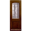 Marsala 8-0 2/3 Arch Lite Knotty Alder Fiberglass 1 Panel Single