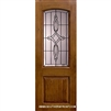 Marsais 8-0 2/3 Arch Lite Knotty Alder Fiverglass 1 Panel Single