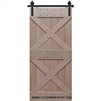 Double X Barn Door 3-6 X 6-8