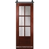 6 Lite TDL Barn Door 2-8 x 8-0