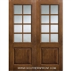 SDL 8-0 2/3 Lite 8 Lite Knotty Alder 1 Panel Double
