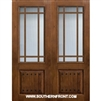 SDL 8-0 2/3 Lite 7 Lite Knotty Alder 1 Panel Double
