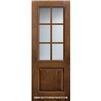 SDL 8-0 2/3 Lite 6 Lite Knotty Alder One Panel Single