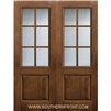SDL 8-0 2/3 Lite 6 Lite Knotty Alder One Panel Double