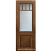 SDL 8-0 2/3 Lite 5 Lite Craftsman Knotty Alder One Panel Single