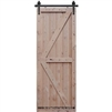 Double Z Two Panel Barn Door 4-0 x 8-0