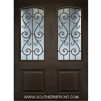 St. Charles 8-0 Arch Lite Therma Plus Steel Double door