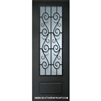 "St. Charles 8-0 x 42"" 3/4 Lite Therma Plus Steel Single door"