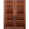 5-0 x 8-0 Square Top 4 Panel Double Door